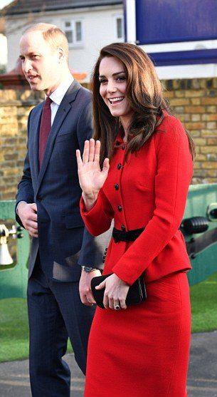 Принц Уильям и Кейт Миддлтон посетили одну из лондонских начальных школ