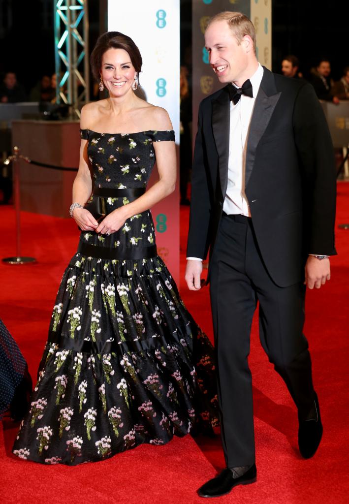 Кейт Миддлтон и принц Уилльям посетили премию BAFTA
