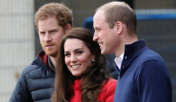 Принц Гарри обогнал Герцога и Герцогиню Кембриджских на благотворительной гонке