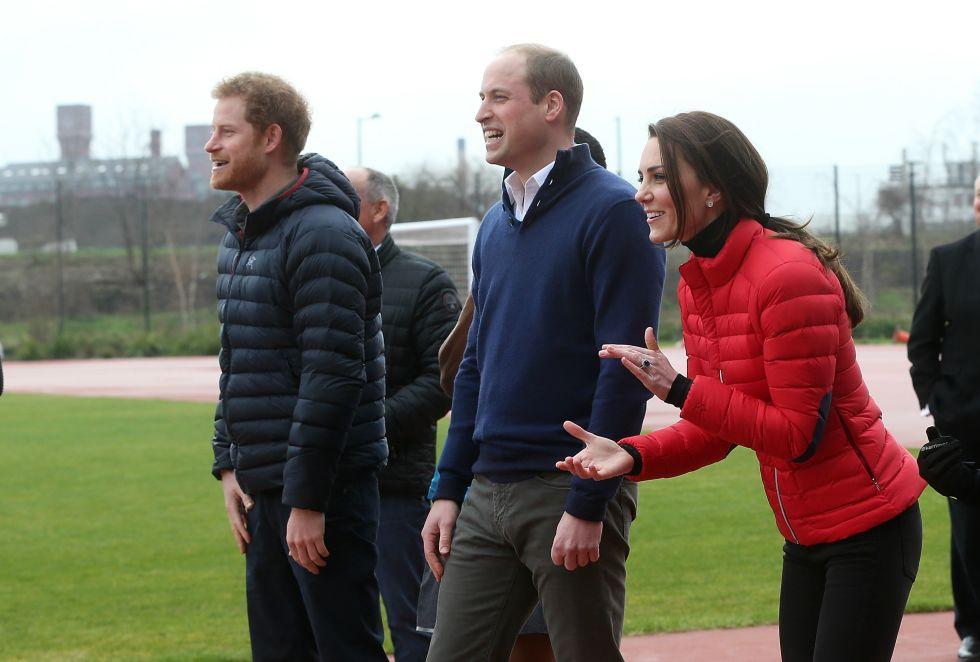 Принц Гарри обогнал Герцога и Герцогиню Кембриджских в благотворительной гонке
