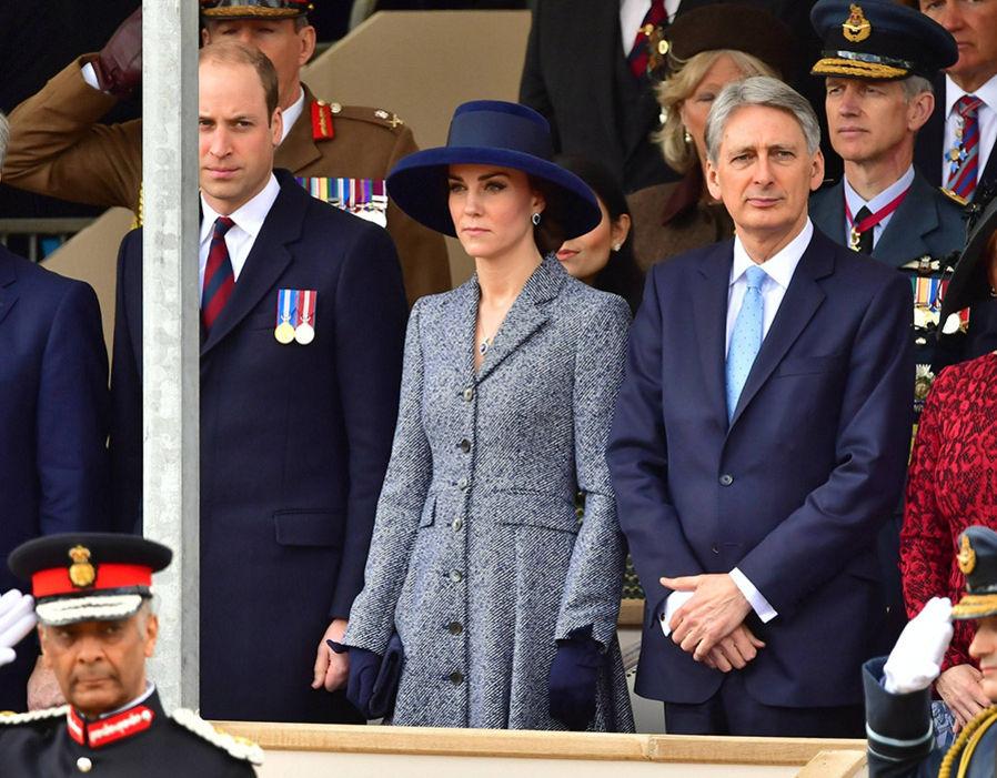 Кейт Миддлтон почтила память военных, погибших в Ираке и Афганистане