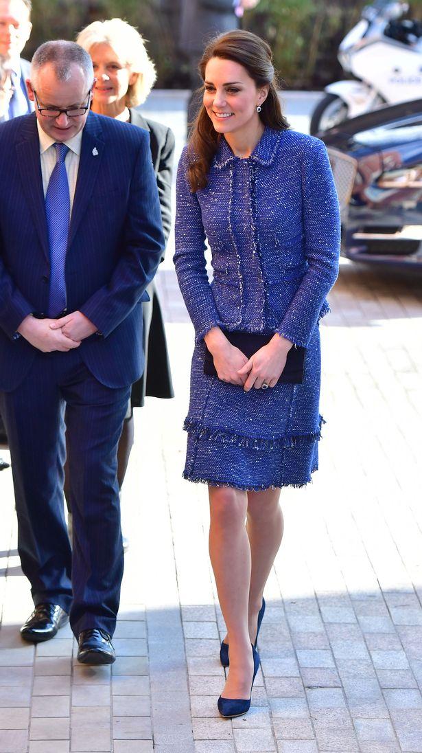 Кейт Миддлтон посетила дом Рональда Макдональда
