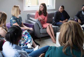 Кейт Миддлтон рассказала, как сложно для нее бывает быть матерью