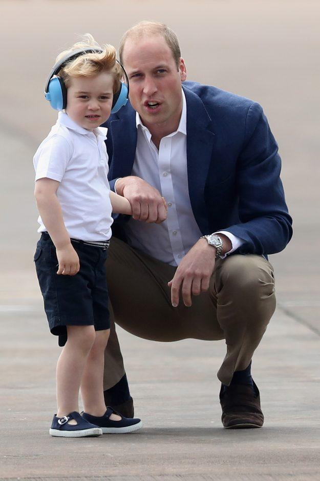 Небольшой секретик общения с детьми от королевской пары!