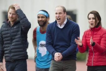Кейт, Уилльям и Гарри поддержат участников Лондонского марафона