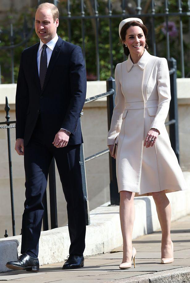 Кейт и Уилльям посетили Пасхальную службу