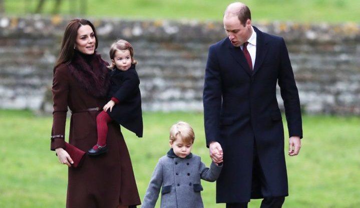 Кейт готова каждый день сама забирать принца Джорджа из школы