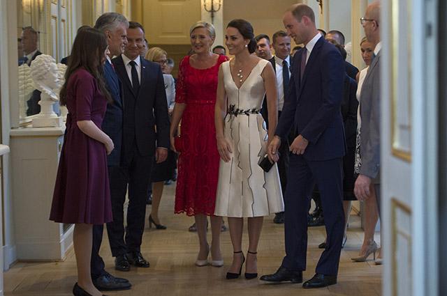 Польское платье от Gosia Baczynska для Кейт Миддлтон