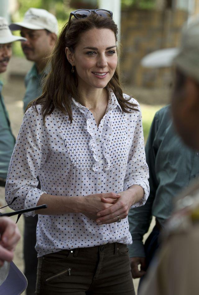 Кейт Миддлтон и ее жемчужные серьги