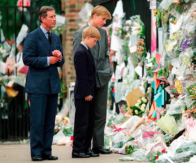 Муж Кейт Миддлтон вспомнил похороны принцессы Дианы