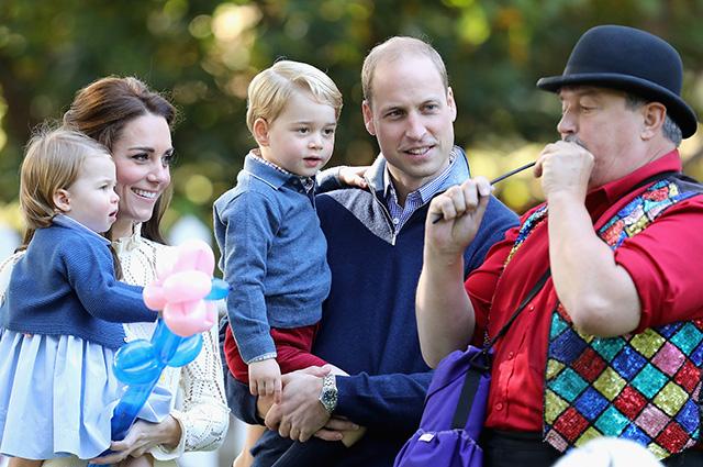 Уильям и Кейт Миддлтон запретили детям играть на айпаде