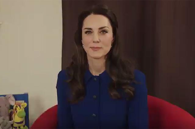 Кейт Миддлтон в благотворительном детском мультфильме