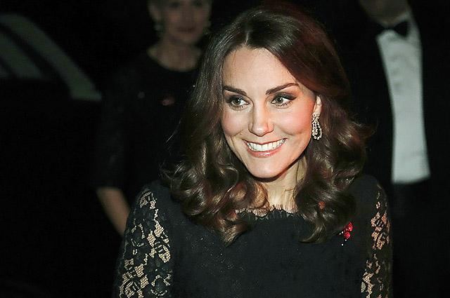 Кейт Миддлтон снова одела платье Diane von Furstenberg на благотворительный ужин