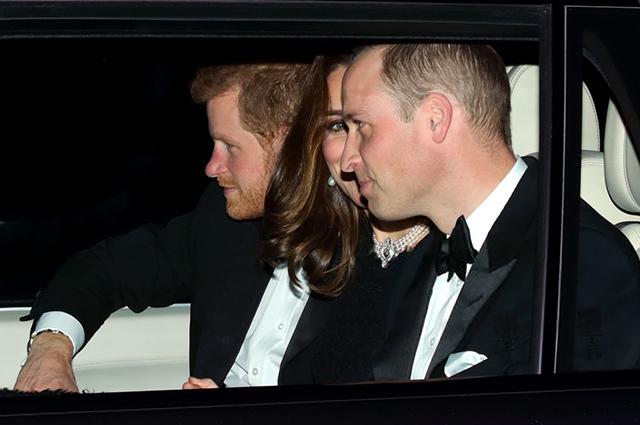 Кейт Миддлтон на юбилее свадьбы Елизаветы II и Филиппа