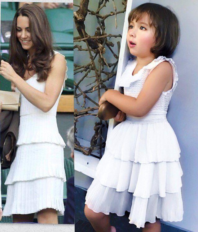 Стиль Кейт Миддлтон копирует маленькая девочка из Индонезии