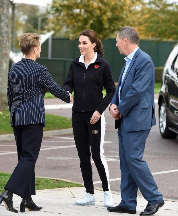 Кейт Миддлтон и ее визит в Lawn Tennis Association
