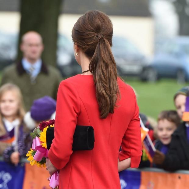 Кейт Миддлтон и ее прическа «конский хвост» на Lawn Tennis Association