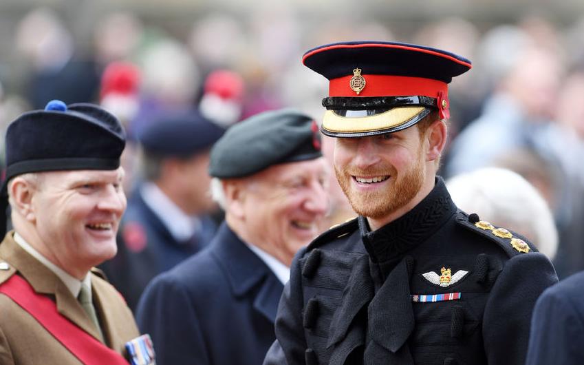 Принц Гарри отдал честь на Поле Памяти погибшим в Первой мировой