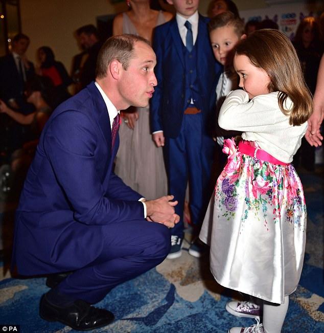 Муж Кейт Миддлтон принц Уильям на награждении Pride of Britain