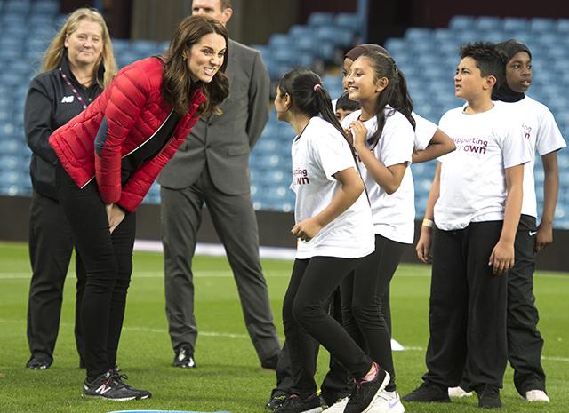 Кейт Миддлтон посетила любимый футбольный клуб принца Уильяма
