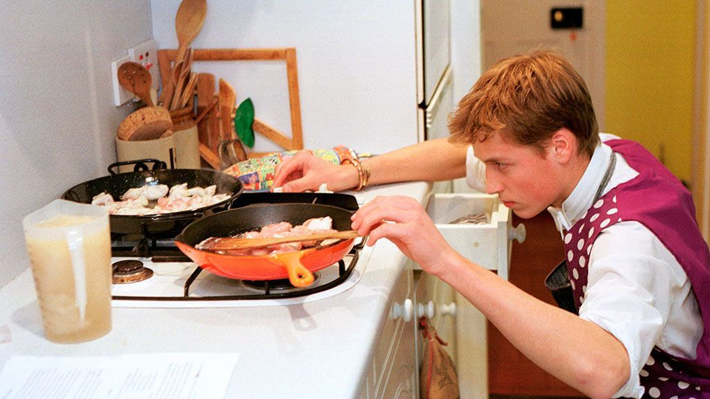 Принц Уильям пока перестал готовить из-за Кейт Миддлтон