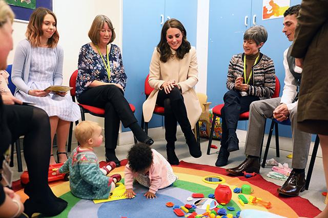 Кейт Миддлтон и ее визит в детский центр Хорнси-роуд