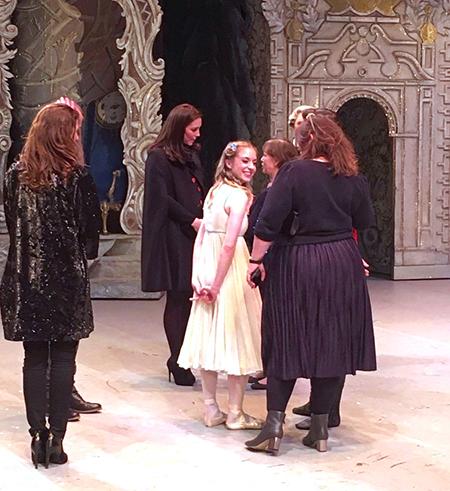 Кейт Миддлтон и ее неожиданный визит в театр Ковент-Гарден