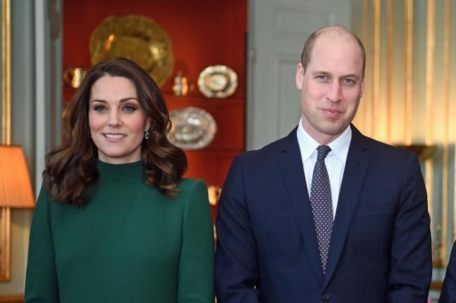 Уильям и Кейт Миддлтон встретились с королем Швеции Карлом Густавом XVI