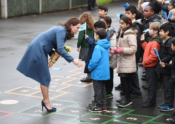 Кейт Миддлтон дала старт новому сайту и побывала в школе Roe Green