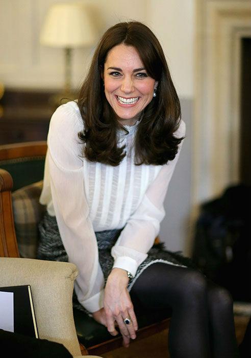 Кейт Миддлтон пожертвовала свои волосы для детей