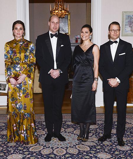 Алисия Викандер рассказала об ужине с Кейт Миддлтон и принцем Уильямом