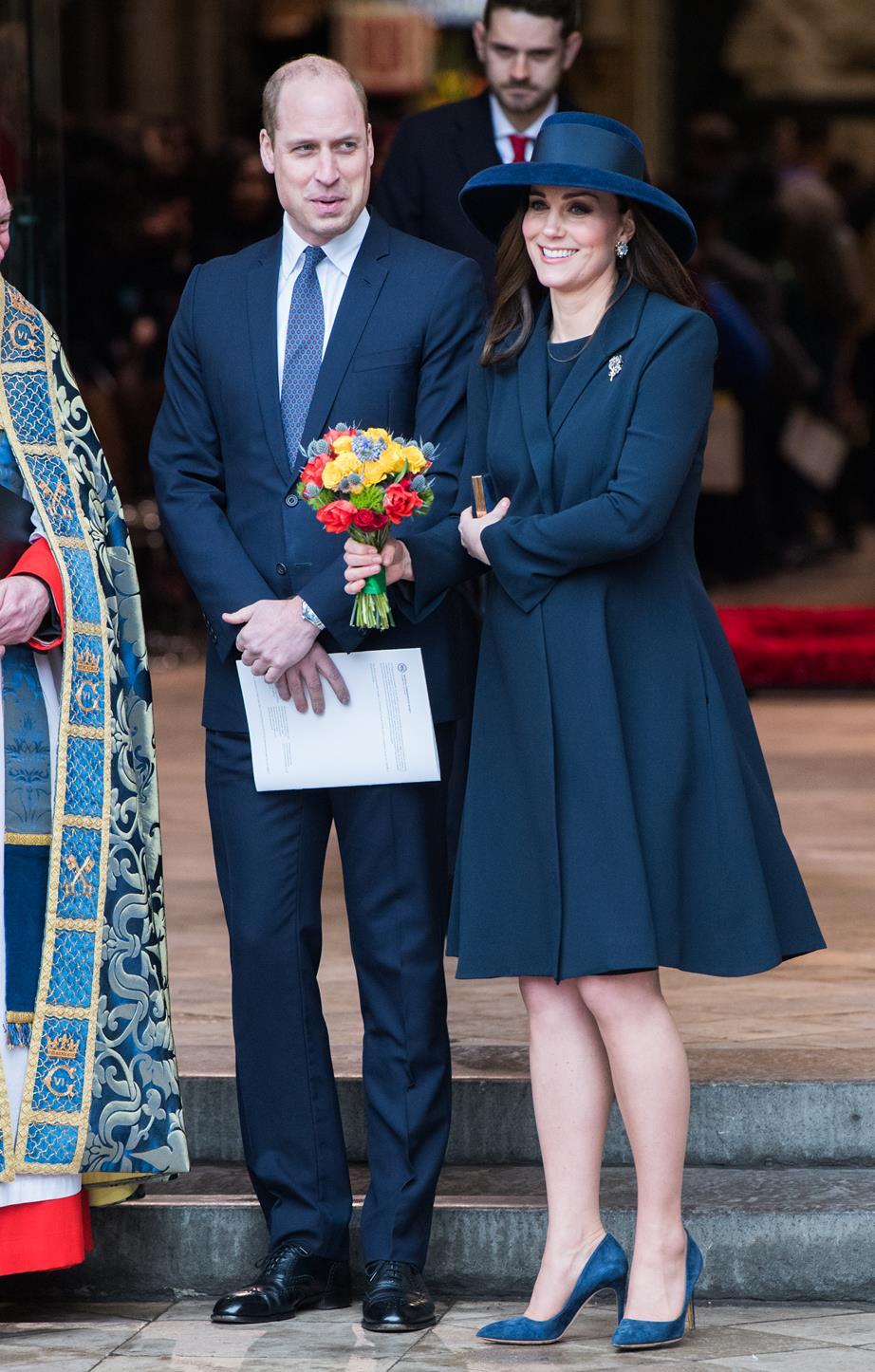 Кейт Миддлтон и Меган Маркл вместе на праздновании Дня Содружества наций