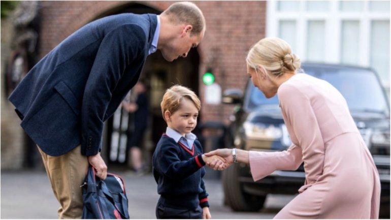 Сынишка Кейт Миддлтон хочет стать стражем порядка