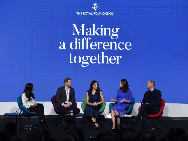 Кейт Миддлтон и Меган Маркл впервые вместе на форуме Royal Foundation