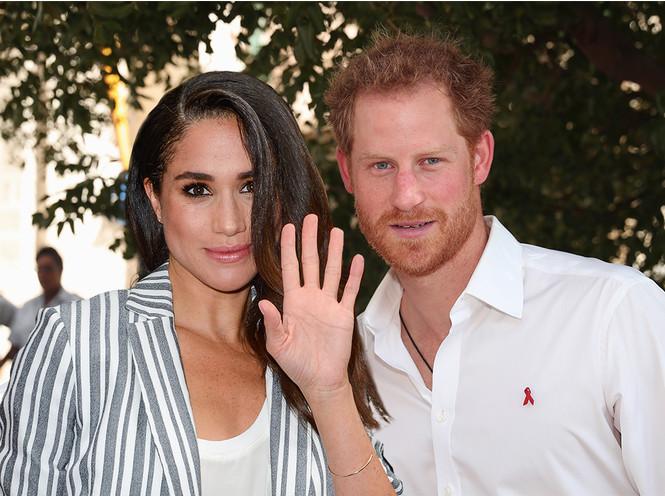 Принц Гарри и Меган Маркл выбрали флориста на свадьбу, нарушив королевский протокол