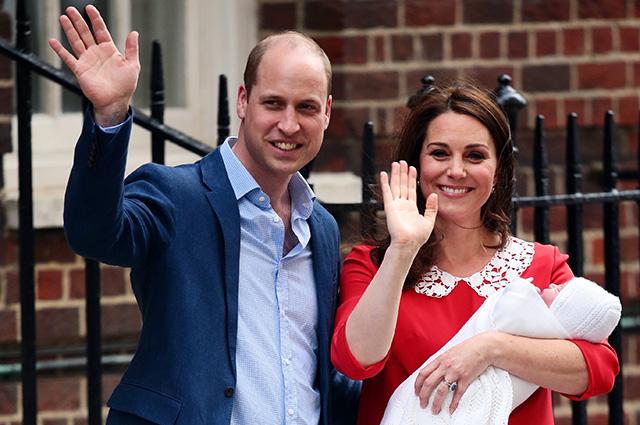 Третий ребенок Кейт Миддлтон. Как в Великобритании отмечают рождение принца?
