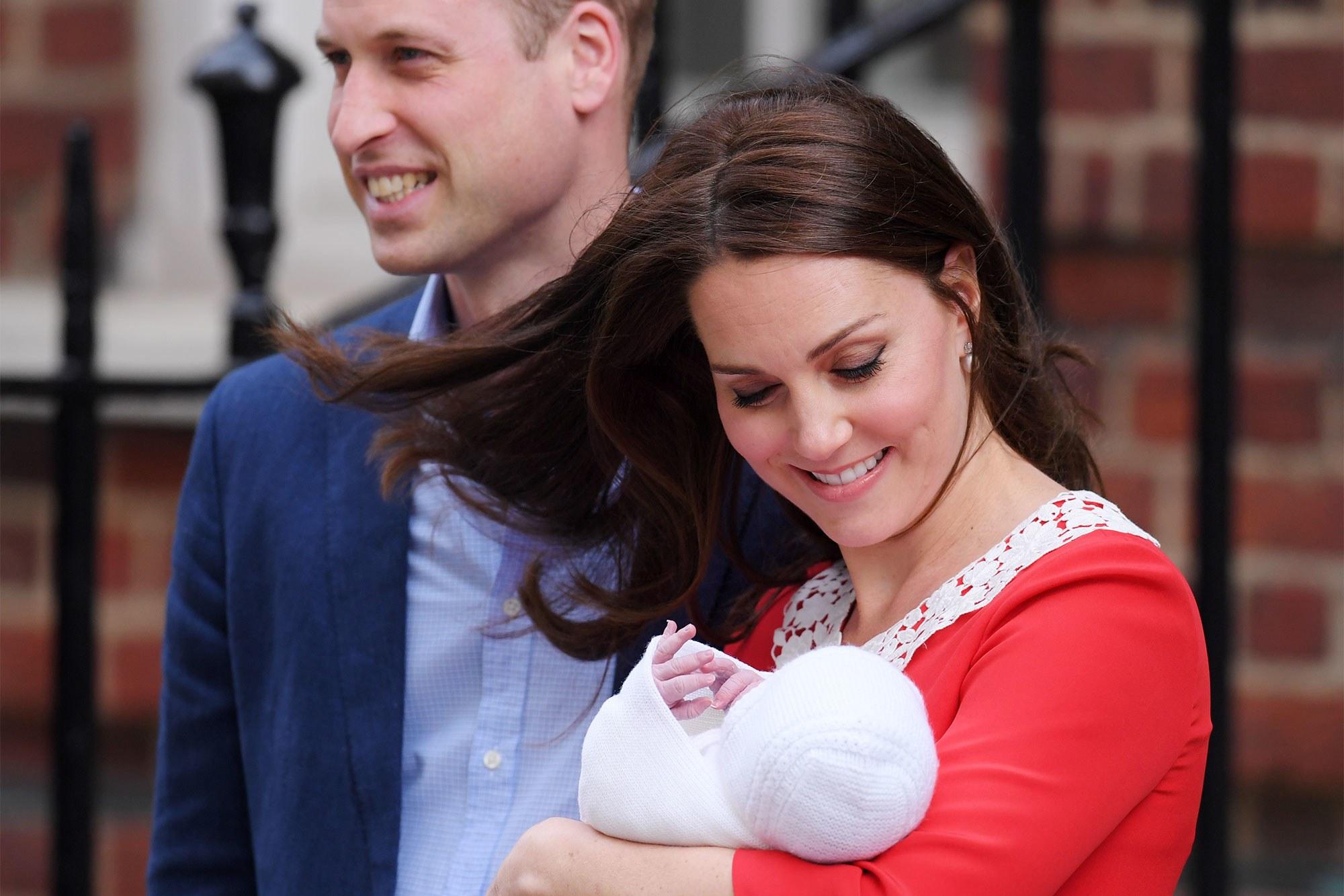 Будущий принц Луи – сын Кейт Миддлтон через несколько лет