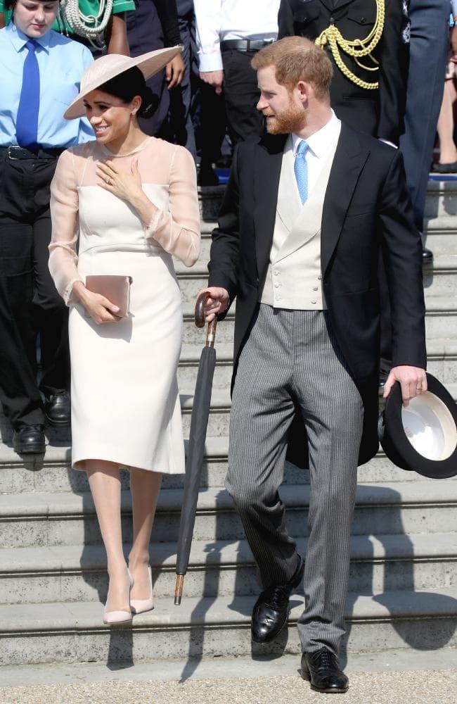 Первый рабочий день принца Гарри и Меган Маркл на вечеринке Garden Party