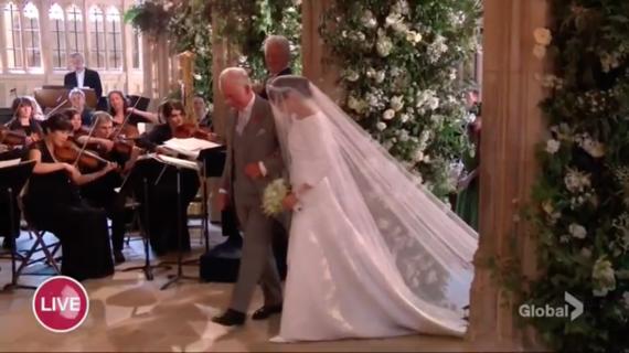 Свадьба принца Гарри и Меган Маркл – трансляция обновляется!