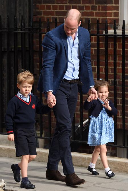 Принц Уильям может выиграть титул «Отец года»!