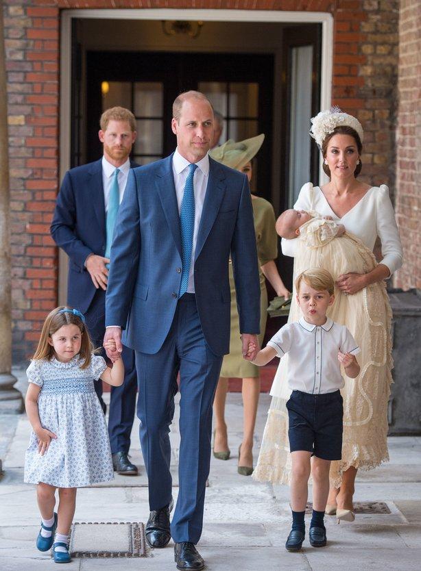 Крещение сына Кейт Миддлтон и принца Уильяма – как это было