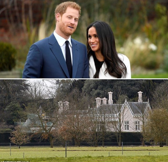 Принц Гарри и Меган Маркл получили особняк Аделаида в подарок от Елизаветы II