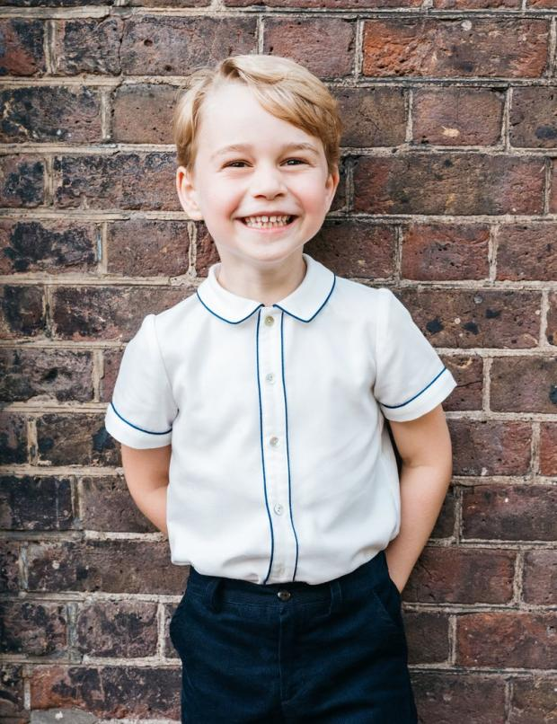 5-летие принца Джорджа – фото сына Кейт Миддлтон и принца Уильяма