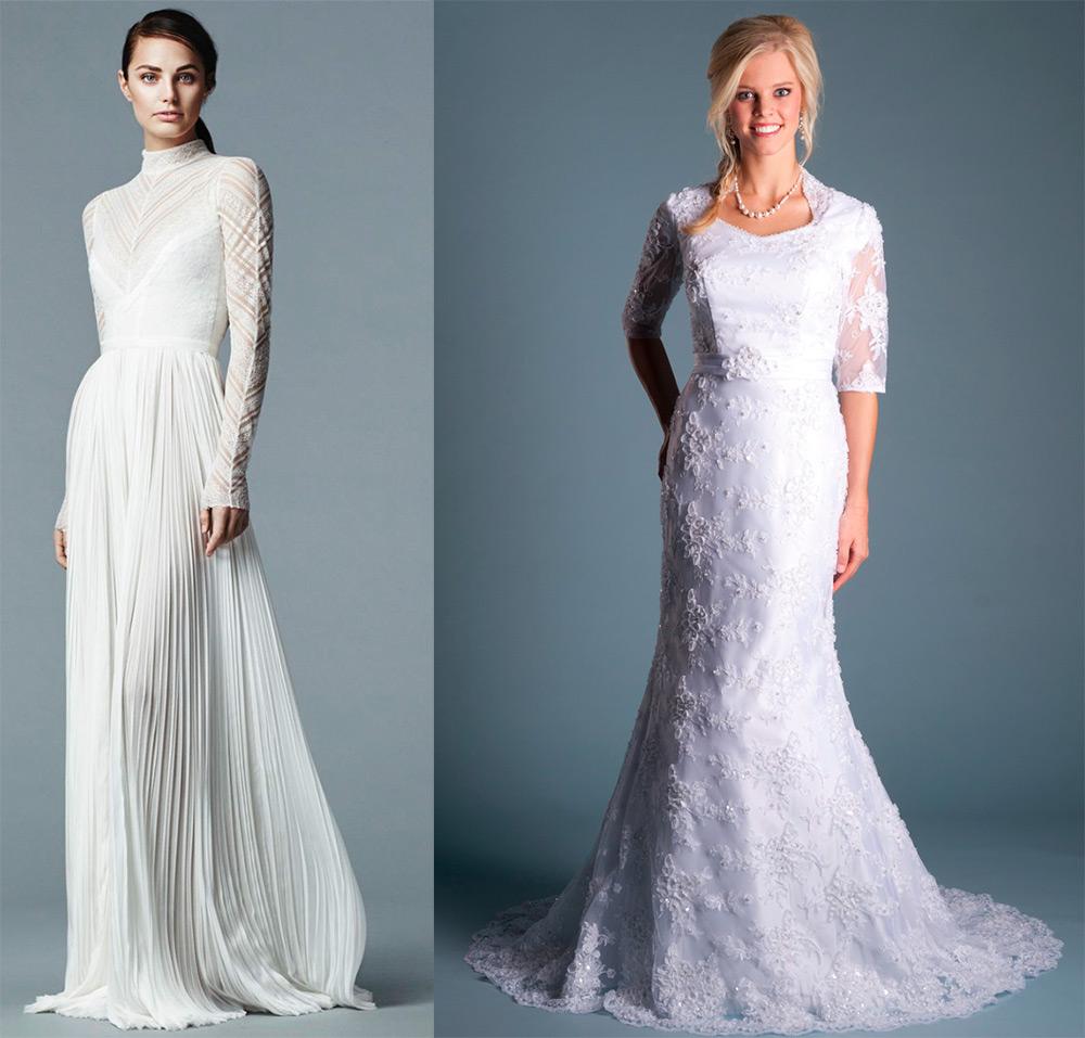 Выбираем венчальное платье для невесты