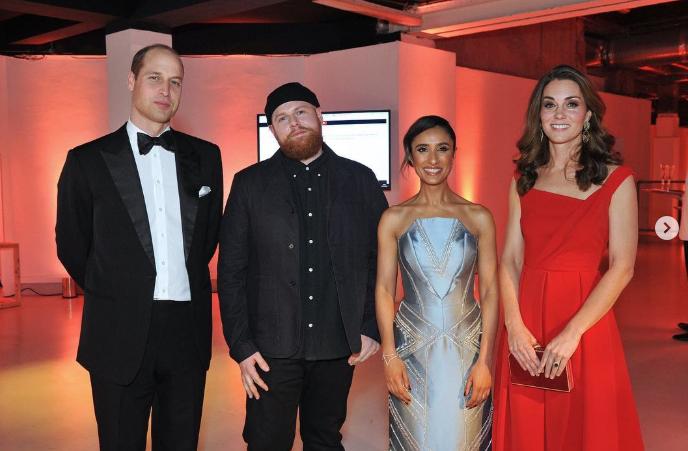Кейт Миддлтон и Меган Маркл в шикарных платьях на приеме Royal Foundation