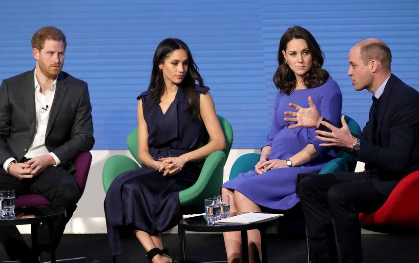 Принц Уильям, Кейт Миддлтон, принц Гарри и Меган Маркл подвели итоги 2018 года