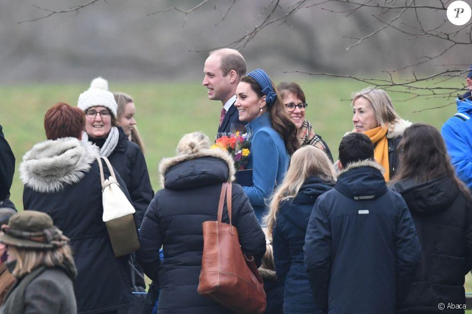 Первый выход Кейт Миддлтон в 2019 году – герцогиня направилась в храм Святой Марии Магдалены