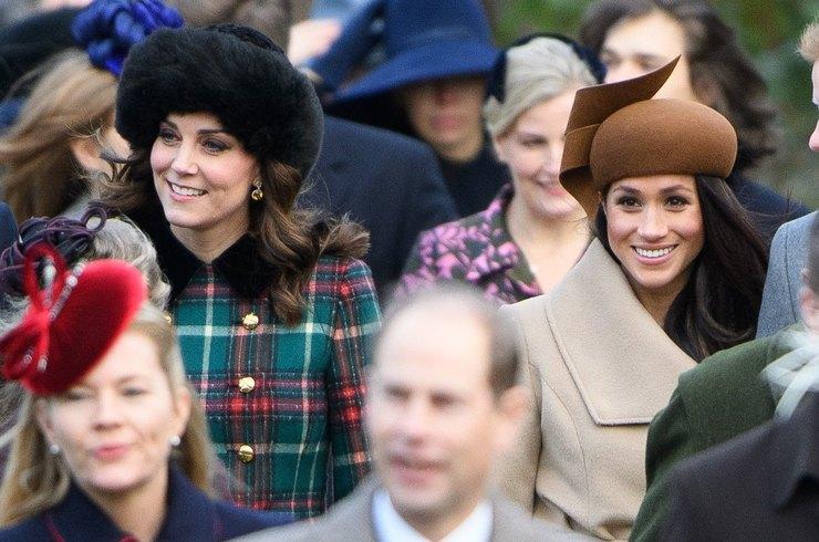 Королева решила примирить Кейт Миддлтон и Меган Маркл