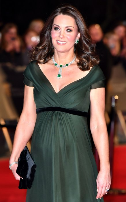 Принц Уильям и Кейт Миддлтон посетят церемонию BAFTA 2019