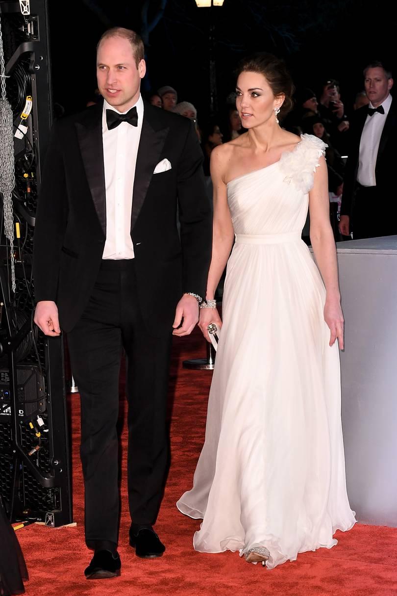 Впечатляющий образ Кейт Миддлтон на церемонии BAFTA